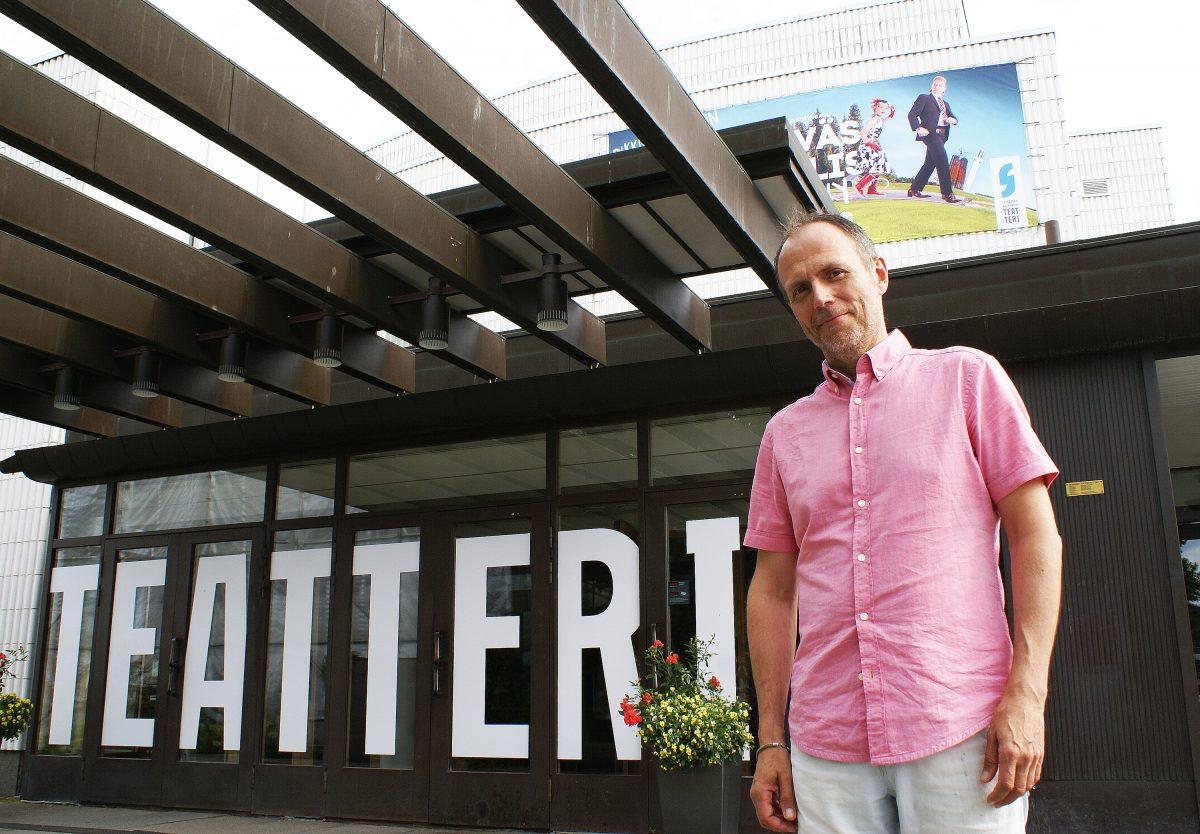 Seinäjoen kaupunginteatterin toimitusjohtaja Markko Heinonen aloitti uudessa toimessaan elokuussa.