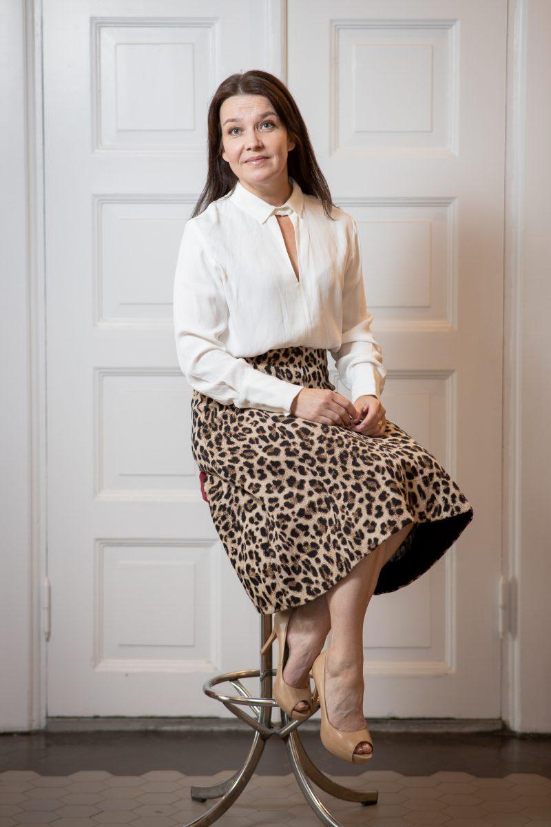 Näyttelijä Mia Vuorela. Kuva: Tomi Lähdesmäki