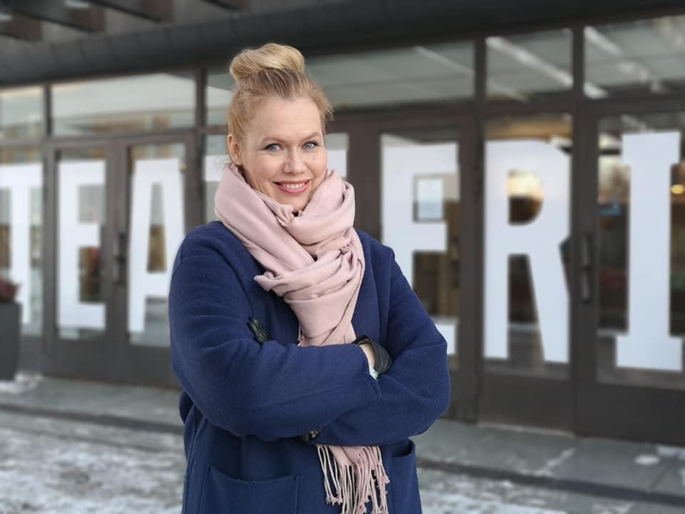 Kirjailija Minna Rytisalo. Kuva: Anna Valtari