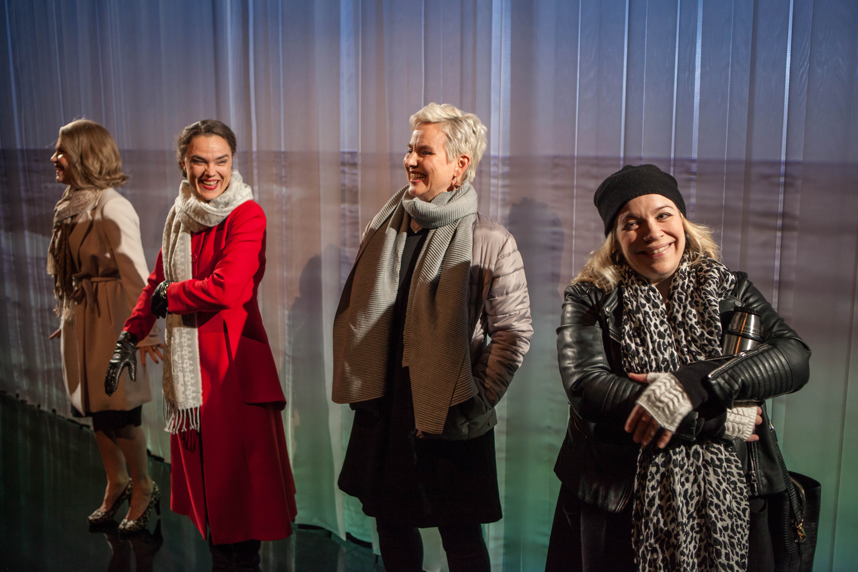 Nimeni on Susanna. Mia Vuorela (vas.), Liisu Aurasmaa, Mari Pöytälaakso ja Maria Pere.