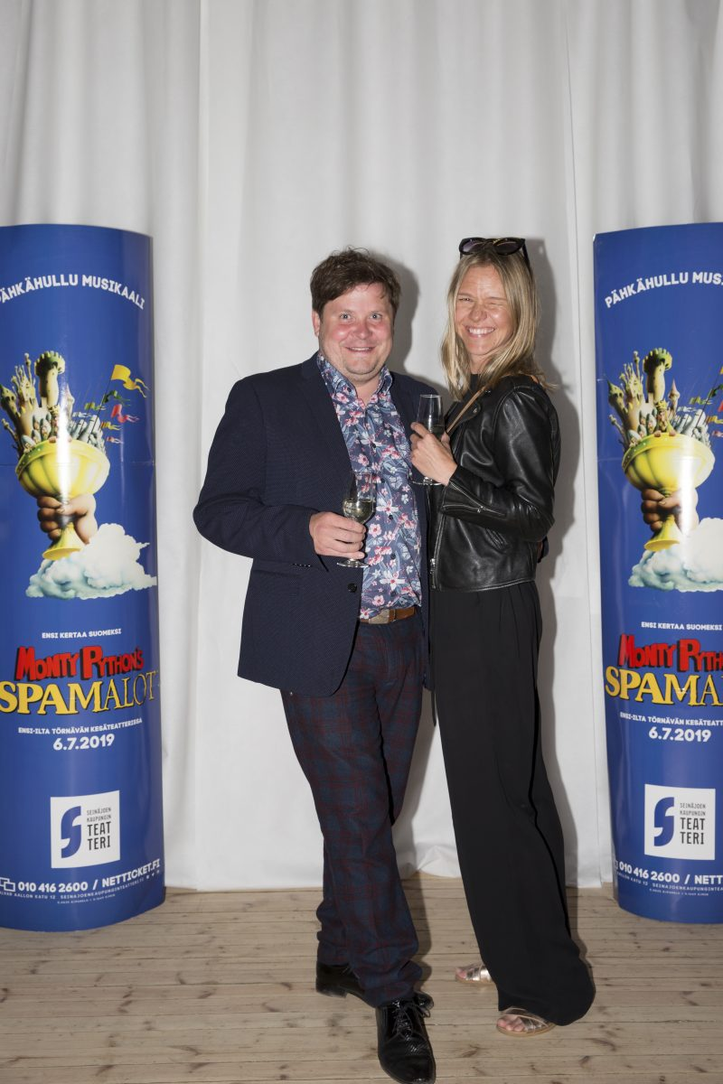 Janne Kataja ja Sonja Kailassaari