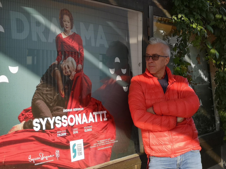 Syyssonaatin ohjaaja Jukka Keinonen. (anna valtari)