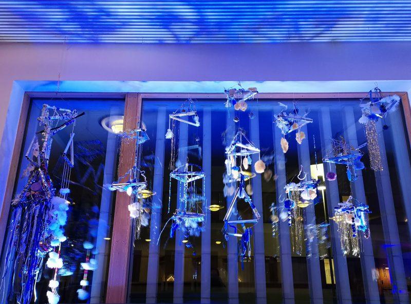 Tähtitaivas-näyttely, joulu 2020.