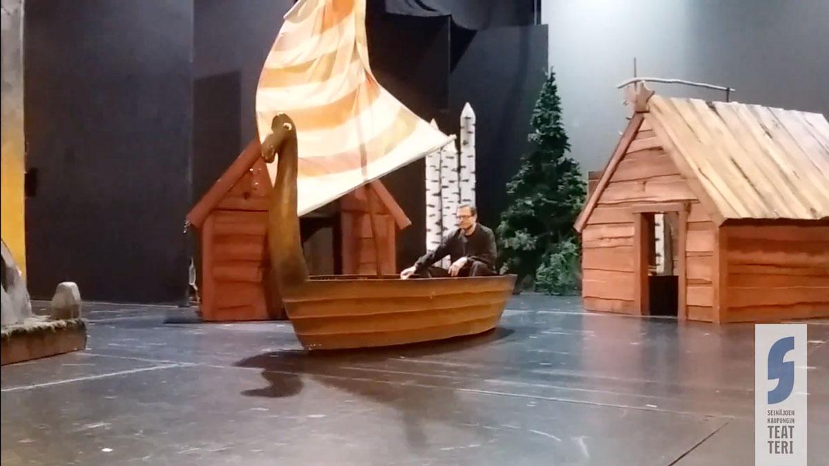 VIDEO: Väinämöisen vene