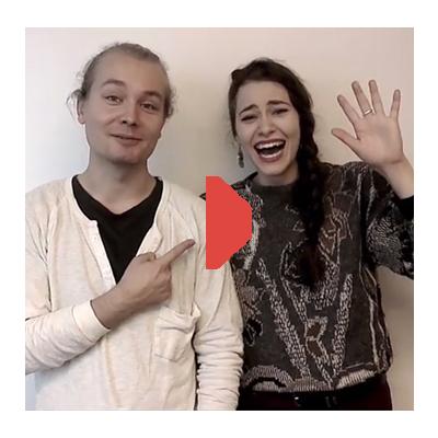 VLOGI: Anna Ackerman ja Topi Kohonen, millaista on näytellä rakastunutta?